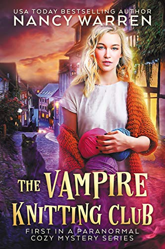 The Vampire Knitting Club Cover
