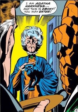 Agatha Harknesss Comic